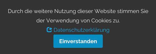 Cookie-Hinweis von Webmedia 2.0