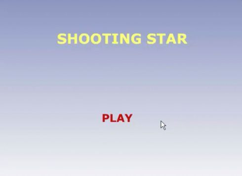 Reference to project Shooting Star <small>Online game</small> (1/4)