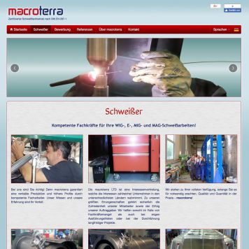 Reference to project Macroterra <small>Website</small> (2/5)