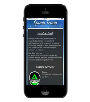 Reference to project Spacy Tracy <small>GPS game</small> (1/5)